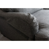 Käsinojasuoja Pariisi Luxus 2 kpl tummanharmaa