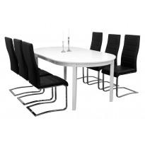 Ruokailuryhmä Haag pöytä ja Nizza tuolit