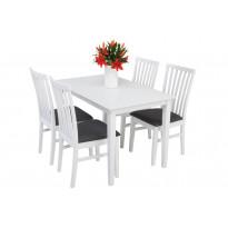 Ruokailuryhmä Phoenix pöytä Haag tuoleilla 4 tuolia