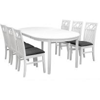 Ruokailuryhmä Haag pöytä ja Bern tuolit