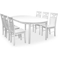 Ruokailuryhmä Haag pöytä ja Phoenix tuolit