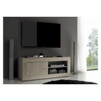 TV-taso Dubrovnik ovella 56x140x43 cm luonnonvärinen