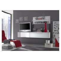 TV-taso/kaappi Flint 33x210x36 cm valkoinen