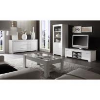 Sohvapöytä Bologna 122/65cm valkoinen