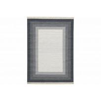 Kelim-matto Antakya 200x300 cm harmaa