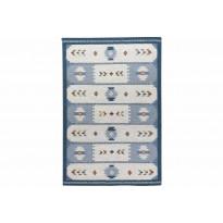 Kelim-matto Rize 200x300 cm sininen
