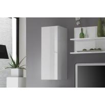 Seinäkaappi Flint 94x33.5x36 cm valkoinen