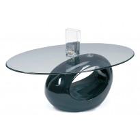 Sohvapöytä Milano 43x65x115 cm musta