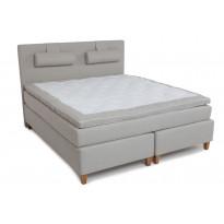 Jenkkisänky Scottsdale Luxus 180x200 cm beige/tammi