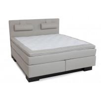 Jenkkisänky Scottsdale Luxus 180x200 cm beige/sokkeli