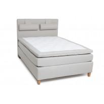 Jenkkisänky Scottsdale Luxus 140x200 cm beige/tammi