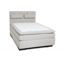 Jenkkisänky Scottsdale Luxus 140x200 cm beige/sokkeli