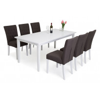 Ruokailuryhmä Lusaka Bern pöydällä 6 Lusaka tuolia