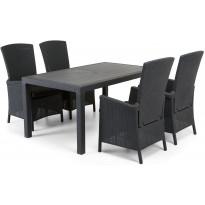 Ruokailuryhmä Furuviken Sointu pöydällä 4 tuolilla
