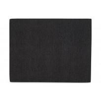 Sängynpääty Scottsdale Luxus 160 cm musta