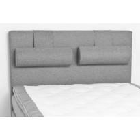 Sängynpääty Scottsdale Luxus 140 cm vaaleanharmaa