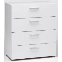 Lipasto Jaalanka, 4 laatikkoa, valkoinen