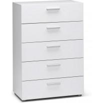 Lipasto Jaalanka, 5 laatikkoa, valkoinen
