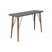Apupöytä Belfast 120 cm mänty/MDF/metalli