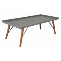 Sohvapöytä Belfast 120 cm mänty/MDF/metalli