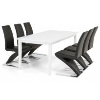Ruokailuryhmä Bern 6 Apia tuolilla