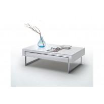 Sohvapöytä Ljubljana korkeakiiltoinen valkoinen