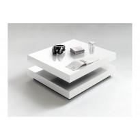 Sohvapöytä Kioto Korkeakiiltovalk valkoinen