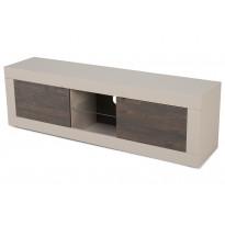 TV-taso Essential 56x181x43 cm leveä hiekka/wenge