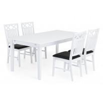 Ruokailuryhmä Landskrona 4 tuolia