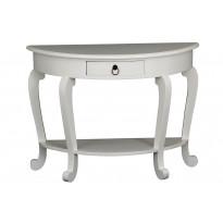Apupöytä Shanghai 72x98x40 cm valkoinen