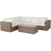 Oleskeluryhmä Bahamas, 6-istuttava sohva + pöytä, hiekka, oikea
