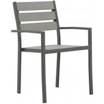 Pinottava tuoli Arrieta 4 kpl, harmaa