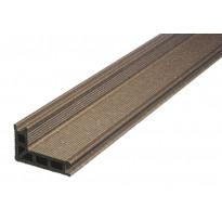 Porraslauta UPM ProFi Deck, 28x110/68x4000mm, kastanjanruskea