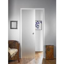 Lasiliukuovi seinän sisään Stella Pocket Door M8, hidastimella, 825x2040mm