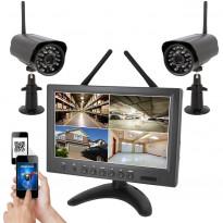 Valvontakamerajärjestelmä Celotron Eagle HD 720P, langaton, sis. 2 kameraa