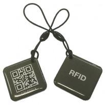 RFID-tunniste Celotron avaimenperä QR-koodein, 2kpl/pkt