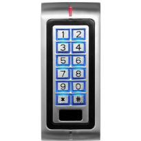 Koodinäppäimistö Sebury W1 RFID-lukijalla IP67, ulkokäyttöön