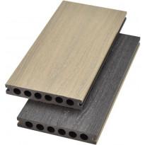 Terassilauta Cent Särkkä puukomposiitti, 23x135x3600mm, 2-puolinen