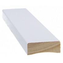 Peitelista Cent-Listat, 14x42x2200mm, mänty, valkoinen