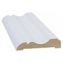 Peitelista/koristelista Cent, 15x69x3300mm, mänty, valkoinen
