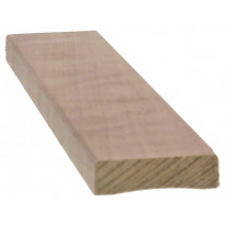 Peitelista Cent-Listat 12x42x2400mm, thermohaapa