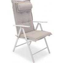 Istuinpehmuste Dusternbrook, niskatyynyllä, valkoinen