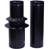 Piippusarja Carelia Grill® 2m musta