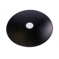 Lattiasuojapelti Carelia Grill®, Ø100cm tulisijoille, Ø200cm, musta