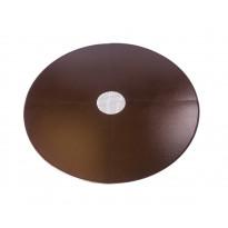 Lattiasuojapelti Carelia Grill®, Ø80cm tulisijoille, Ø180cm, antiikkikupari