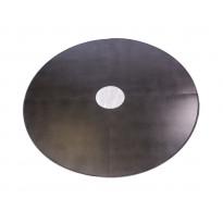 Lattiasuojapelti Carelia Grill®, Ø80cm tulisijoille, Ø180cm, antiikkihopea