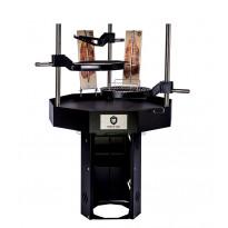 Pihagrilli Carelia Grill® 9K-100 Premium, korkea, ilman huuvaa, musta