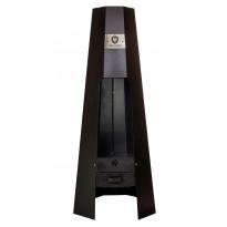 Ulkotulisija Carelia Grill® A-Fire, 1500x600x600mm, musta