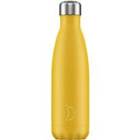 Juomapullo Chillys Matte Burnt Yellow, 500ml