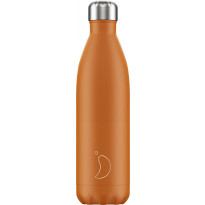 Juomapullo Chillys Matte Burnt Orange, 750ml
